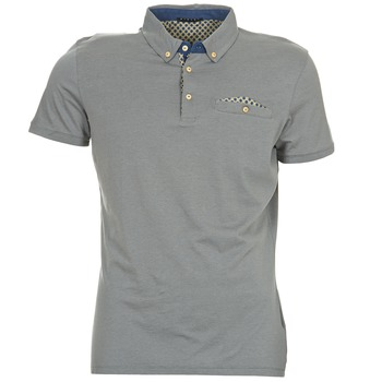 Clothing Men short-sleeved polo shirts Sisley CATILARO Grey