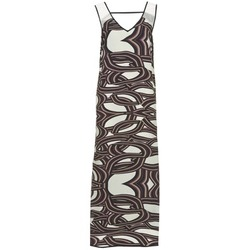 Clothing Women Long Dresses Sisley SIXIOL Multicoloured