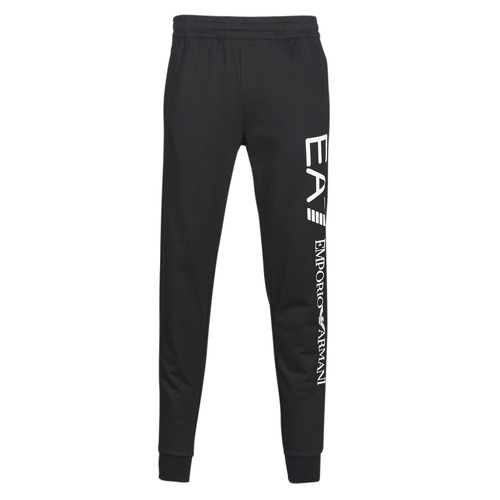 Clothing Men Tracksuit bottoms Emporio Armani EA7 TRAIN TRITONAL M PANTS CH BR Black / White
