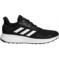 Shoes Men Low top trainers adidas Originals Duramo 9 Black-White