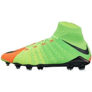 Shoes Men Football shoes Nike Hypervenom Phantom Iii DF FG Green