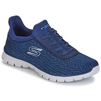 Shoes Women Fitness / Training Skechers EZ FLEX 3.0 Navy
