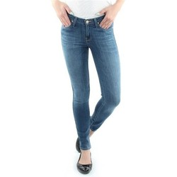 Clothing Women Skinny jeans Lee Scarlett Blue L526SVIX blue
