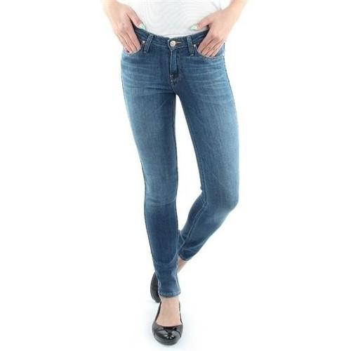Clothing Women Skinny jeans Lee Scarlett Blue L526SVIX blue