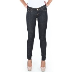 Clothing Women Skinny jeans Lee Spodnie  Toxey Rinse Deluxe L527SV45 blue