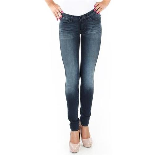 Clothing Women Skinny jeans Wrangler Spodnie  Corynn W25FU453J blue
