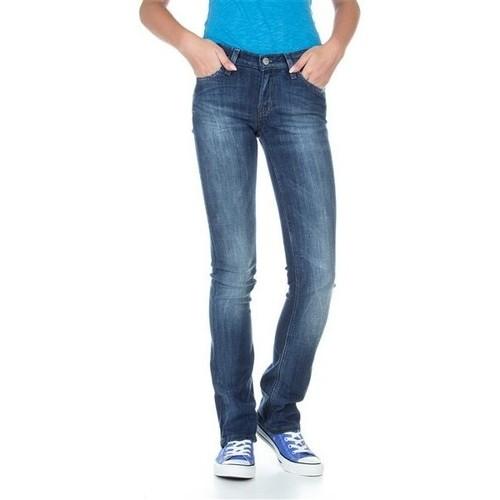 Clothing Women Slim jeans Lee Bonnie L302ALFR blue