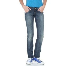 Clothing Women Straight jeans Lee Lynn L38418HD blue