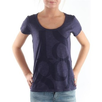 Clothing Women Short-sleeved t-shirts Lee T-Shirt  Scoop Mystic Plum 40KFL87 blue