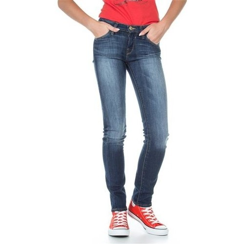 Clothing Women Slim jeans Lee Jade L331OGES blue