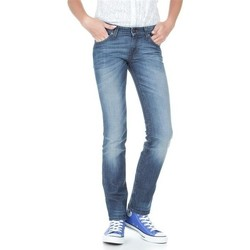 Clothing Women slim jeans Lee Marlin L337AMPI blue