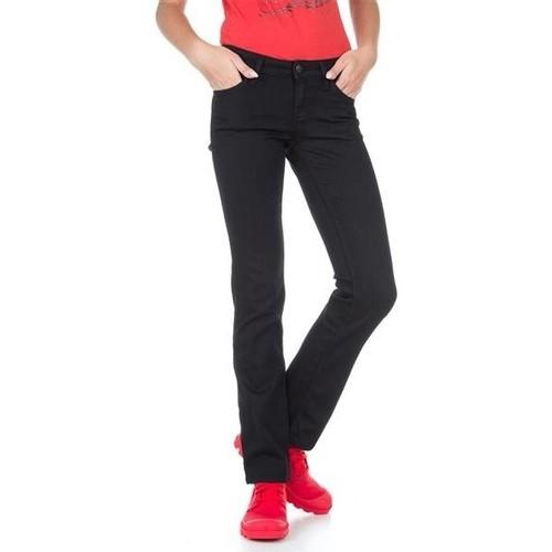 Clothing Women Slim jeans Lee Marlin L337DROC black