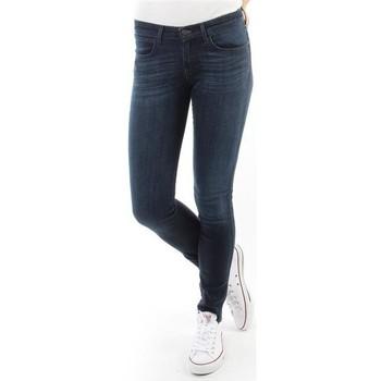 Clothing Women Skinny jeans Wrangler Spodnie Damskie CORYNN BLUE SHELTER W25FU466N blue