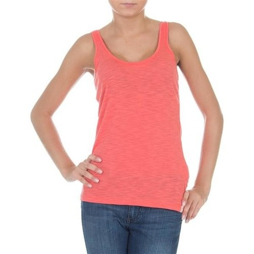 Clothing Women Tops / Sleeveless T-shirts Wrangler Essential Tanks W7244GRHJ pink