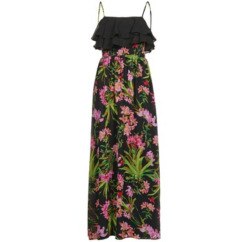 Clothing Women Long Dresses Morgan RASSIM Black / Green