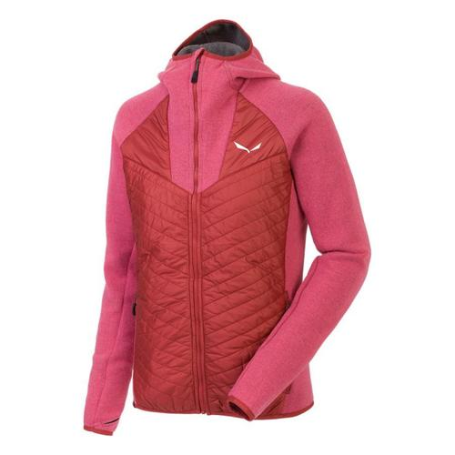 Clothing Women Fleeces Salewa Bluza  Fanes PL/TW W Jacket 25984-6336 pink