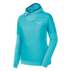 Clothing Women Fleeces Salewa Bluza  Pedroc PTC Alpha W Hoody 26355 blue