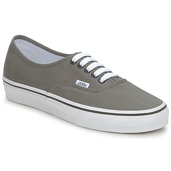 Shoes Low top trainers Vans AUTHENTIC Pewter / Black