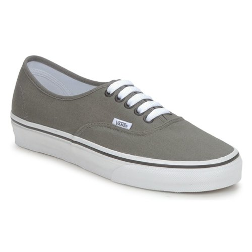 Shoes Men Low top trainers Vans AUTHENTIC Grey