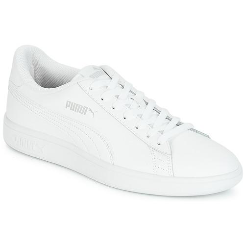 Shoes Men Low top trainers Puma SMASH White