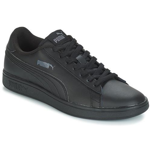 Shoes Men Low top trainers Puma SMASH Black