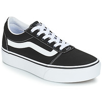 Shoes Women Low top trainers Vans VWM WARD PF Black