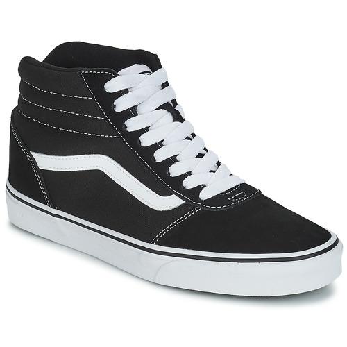 Shoes Children Hi top trainers Vans V MN WARD H Black