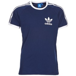 Clothing Men short-sleeved t-shirts adidas Originals SPORT ESS TEE Marine