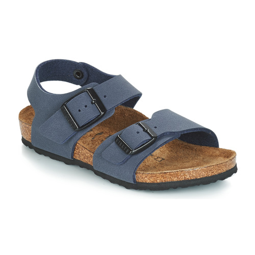 Shoes Boy Sandals Birkenstock NEW YORK Blue