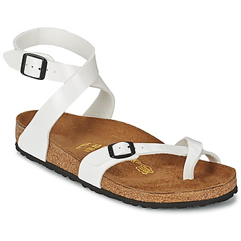 Cheap Silver Birkenstock Milano Sandals For Men Ladies Narrow Shoes ... d80b7060a31