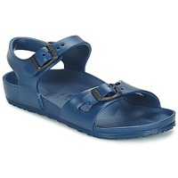 Shoes Girl Sandals Birkenstock RIO EVA Marine