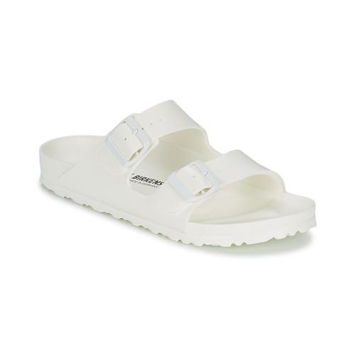 Shoes Women Mules Birkenstock ARIZONA EVA White