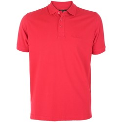 Clothing Men short-sleeved polo shirts Pierre Cardin Basic Polo Red