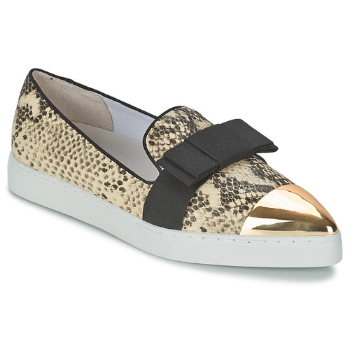 Shoes Women Slip-ons Senso DREE III Natural / Snake