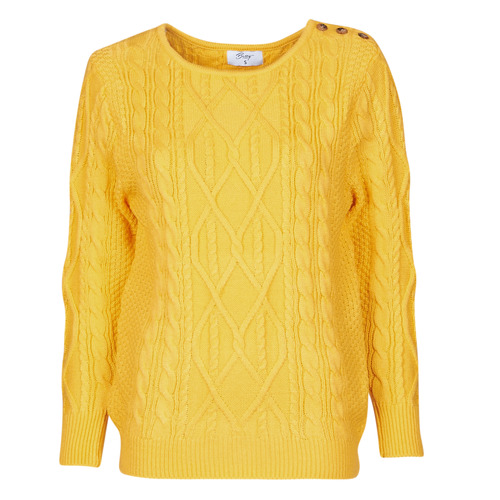 Clothing Women jumpers Betty London JEDRO Yellow