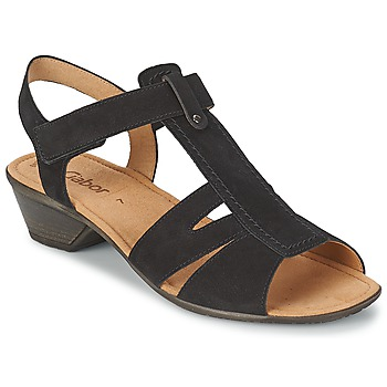 Shoes Women Sandals Gabor STEPHANIE Black