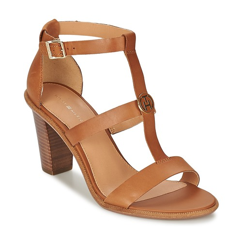 Shoes Women Sandals Tommy Hilfiger JOAN 7A COGNAC