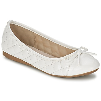 Shoes Women Flat shoes Moony Mood VOHEMA White / Patent