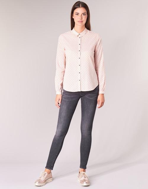 Clothing Women 5-pocket trousers Maison Scotch LA BOHEMIENNE Black