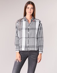 Clothing Women Shirts Scotch & Soda FRINDA Black / White