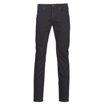 Clothing Men straight jeans Scotch & Soda RALSTON Black