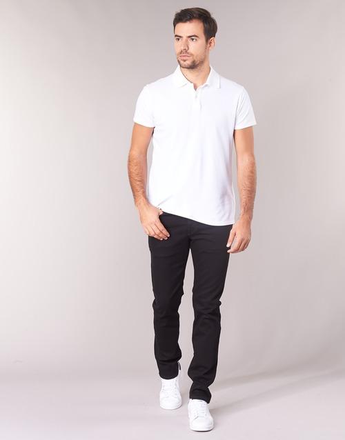 Clothing Men straight jeans Scotch & Soda RALSTON Black