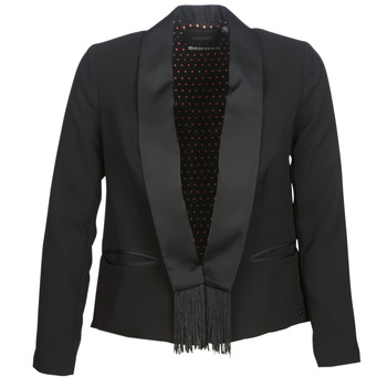 Clothing Women Jackets / Blazers Maison Scotch BOUKOUM Black