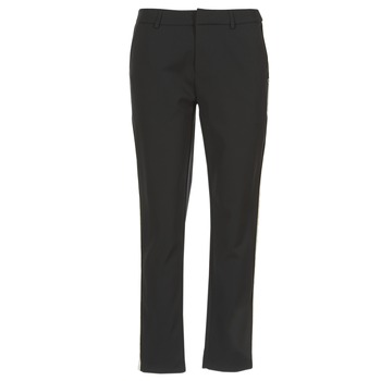 Clothing Women Cargo trousers Scotch & Soda ZERATRE Black / White