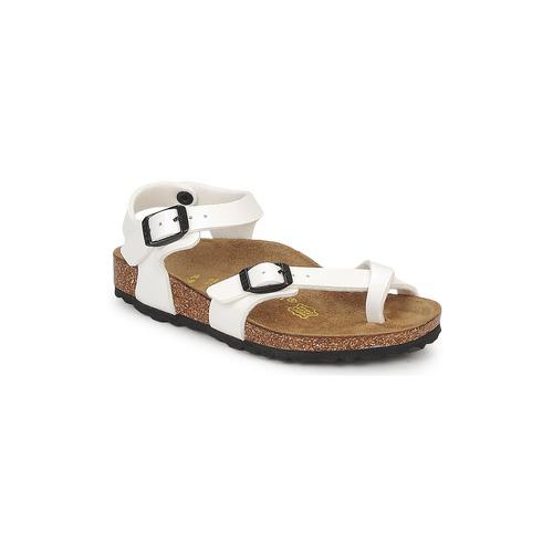 332af8e7261 Birkenstock TAORMINA White   Patent - Shoes Sandals Child £ 39.49