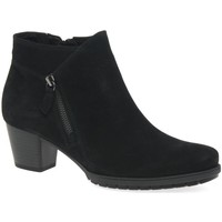 Shoes Women Ankle boots Gabor Olivetti Womens Zip Fastening Ankle Boots black