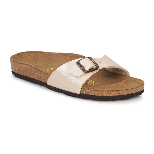 Shoes Women Mules Birkenstock MADRID Cream