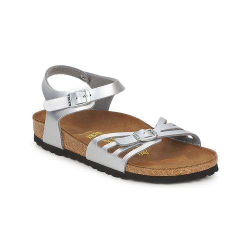 Shoes Women Sandals Birkenstock BALI Silver