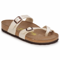 Shoes Women Mules Birkenstock MAYARI Cream
