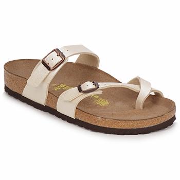 Shoes Women Mules Birkenstock MAYARI Cream